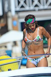 Rihanna in a Bikini in Barbados, August 2015