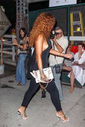 Rihanna Night Out Style - NYC, August 2015