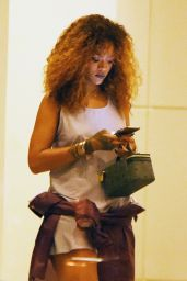 Rihanna - Out in New York City, August 2015
