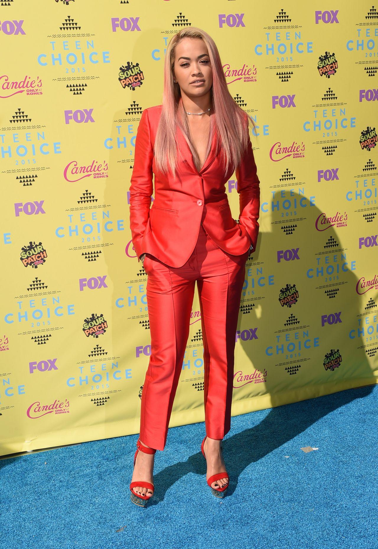 Rita Ora - 2015 Teen Choice Awards in Los Angeles