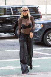 Rita Ora Casual Style - Out in New York, August 2015