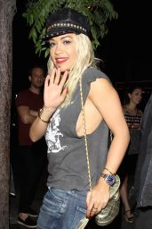 Rita Ora Night Out Style - Out in West Hollywood, August 2015