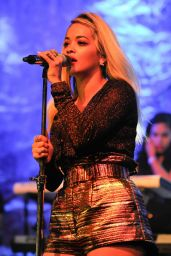 Rita Ora Performs on Opening Night of Her U.S. Tour in San Francisco