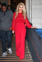 Rita Ora Style - Nobu Restaurant in NYC , August 2015