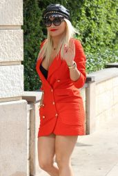 Rita Ora Style - Out in West Hollywood, August 2015