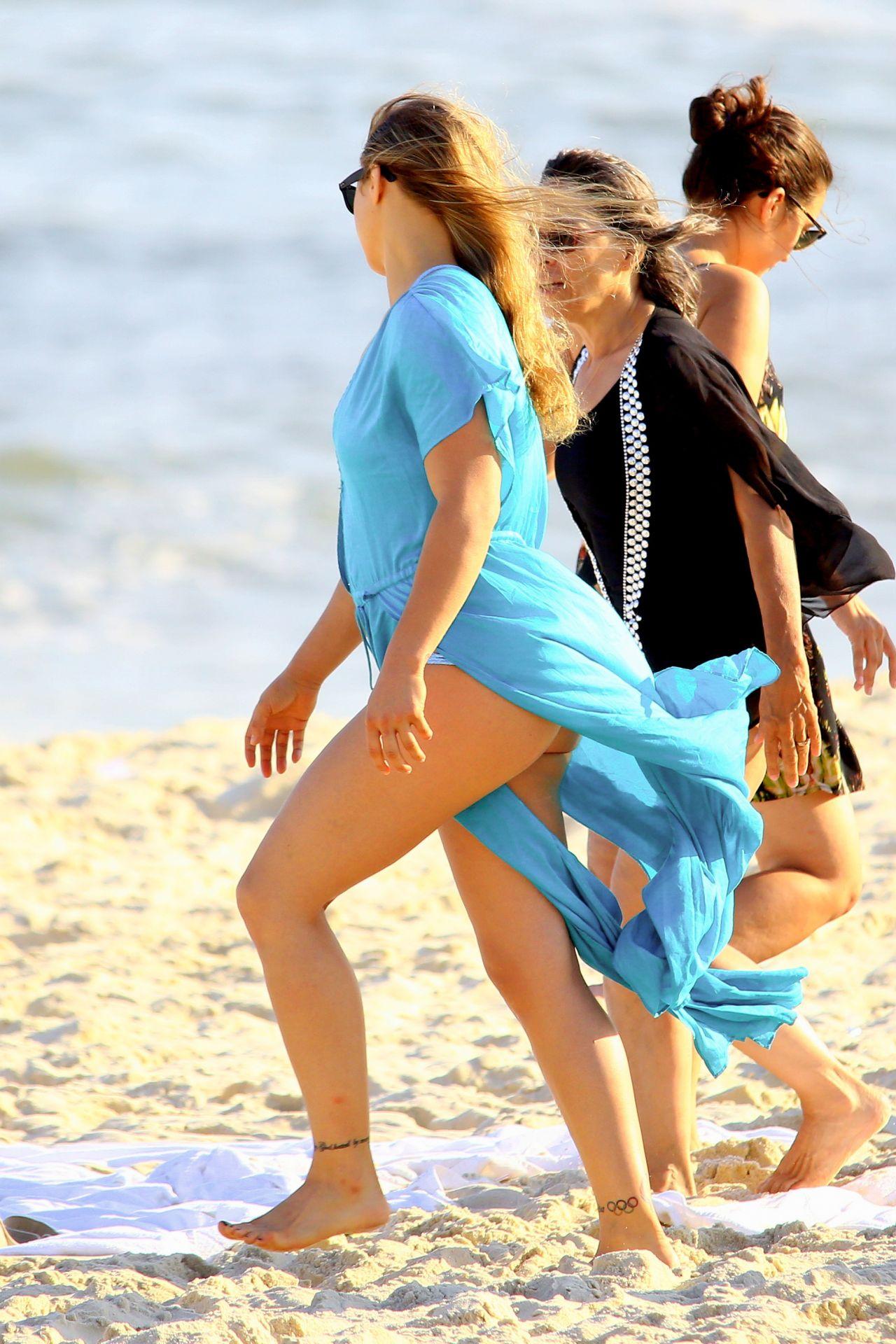 Ronda Rousey In A Bikini At A Beach In Rio De Janeiro