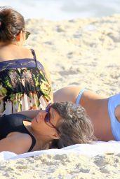 Ronda Rousey in a Bikini at a Beach in Rio de Janeiro, August 2015