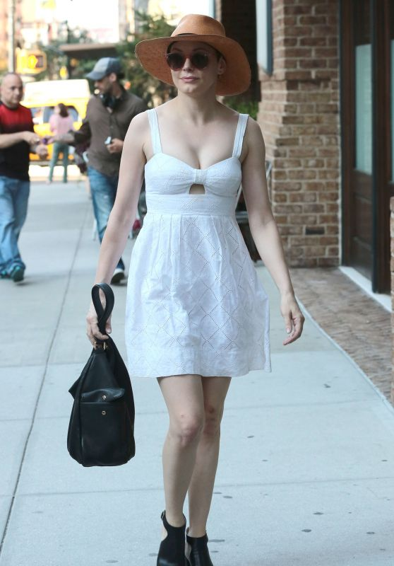 Rose McGowan - Out in NYC, August 2015