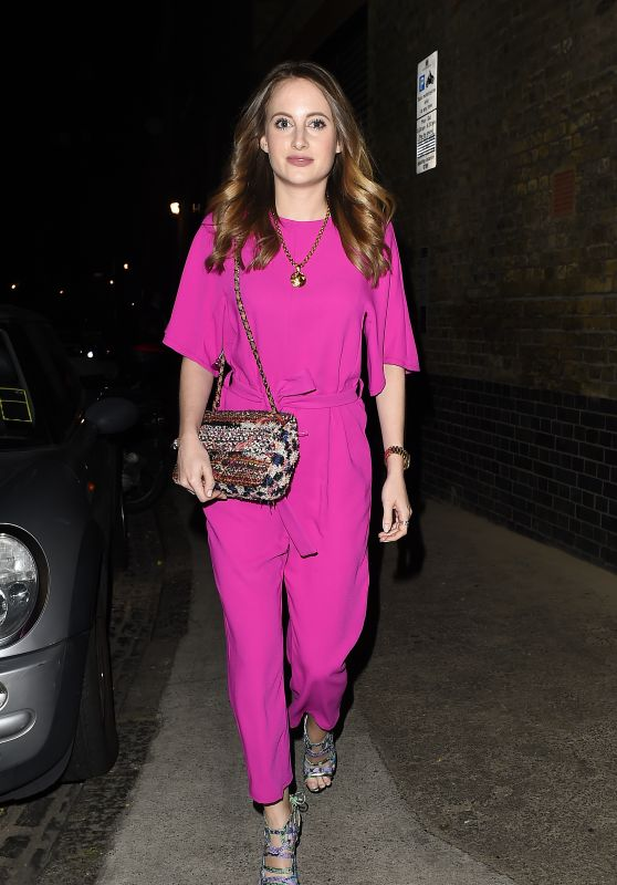 Rosie Fortescue Night Out Style - Outside The Chiltern Firehouse in London, July 2015
