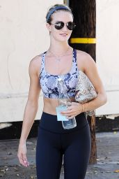 Rosie Huntington-Whiteley - Leaving the Gym in West Hollywood, August 2015