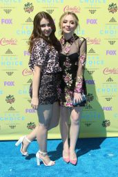 Sabrina Carpenter - 2015 Teen Choice Awards in Los Angeles