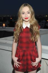 Sabrina Carpenter – Teen Vogue Dinner Party in Los Angeles, August 2015