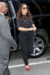 Salma Hayek - Out and About in New York City, August 2015