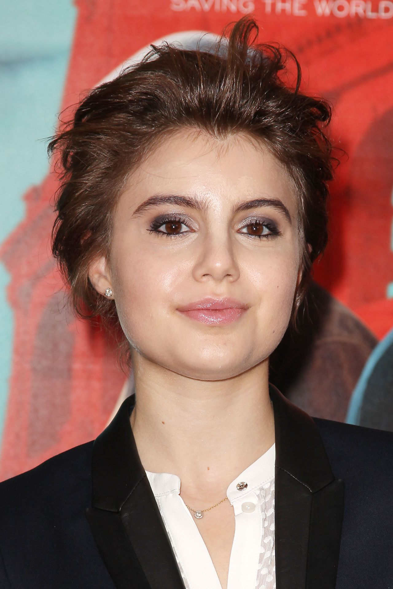 Sami Gayle The Man From U N C L E Premiere In New
