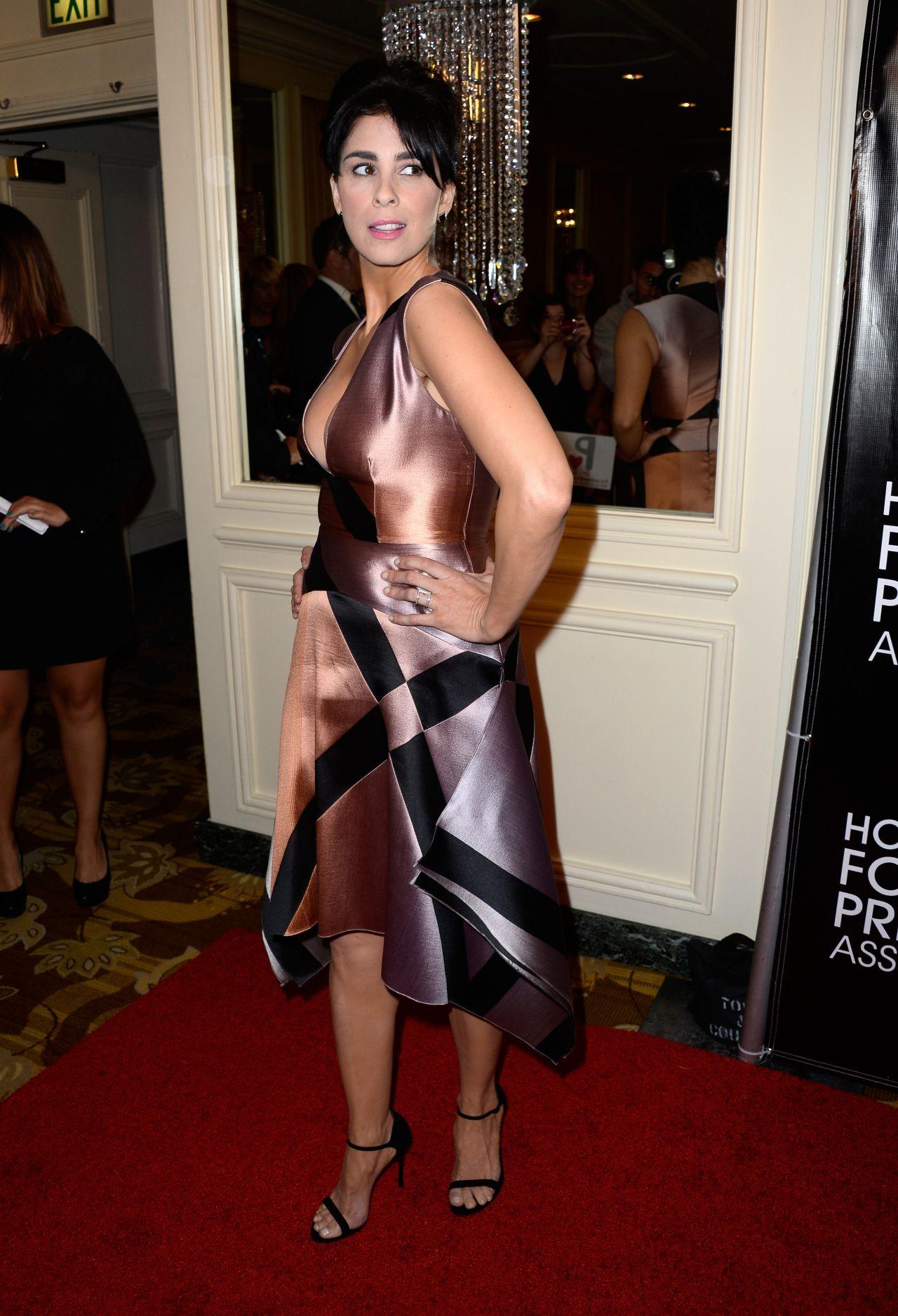 Sarah Silverman 2015 Hollywood Foreign Press Association