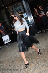 Selena Gomez Casual Style - Out in NYC, August 2015