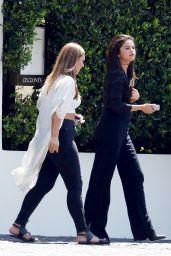 Selena Gomez Outside Cecconi