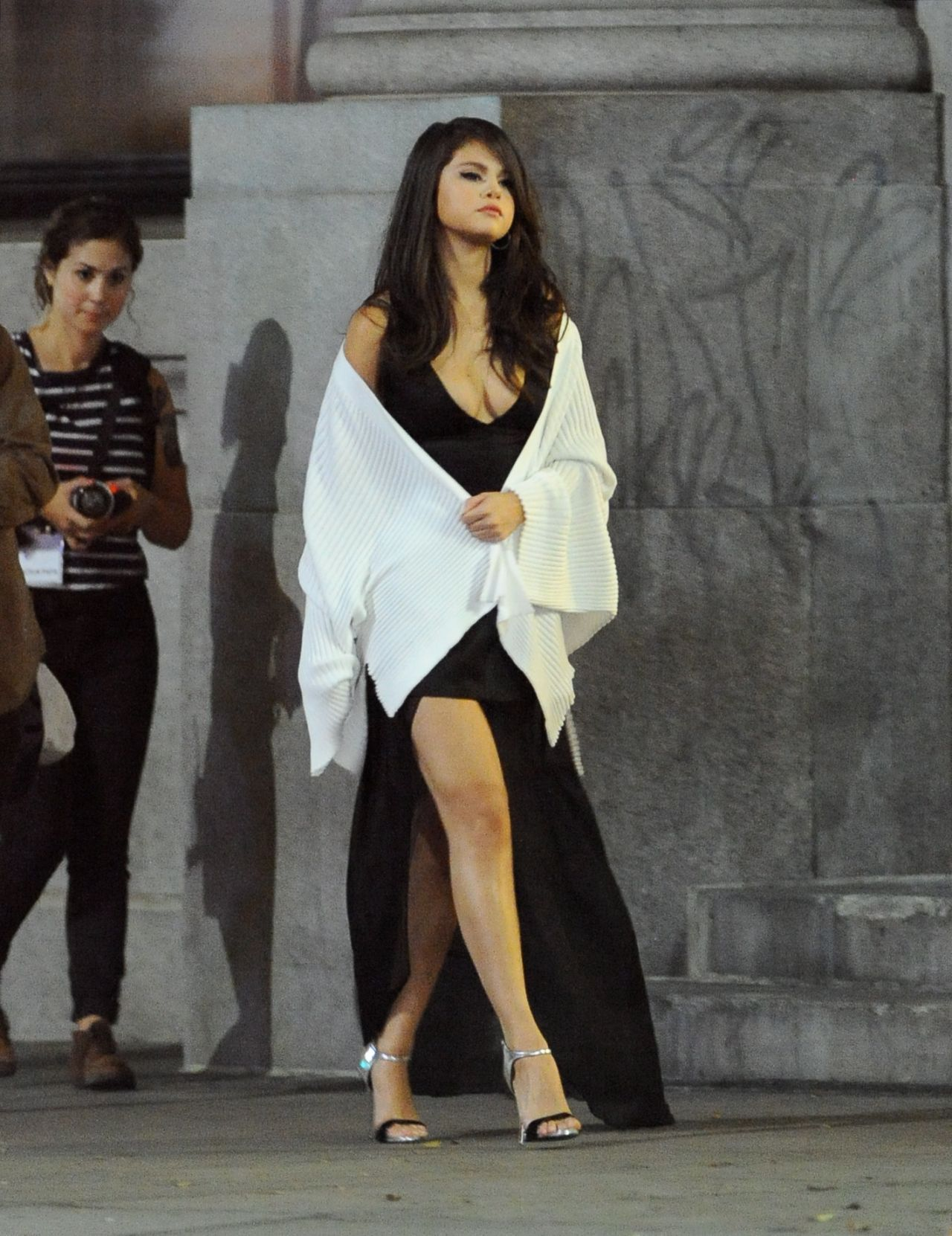 Selena Gomez - Same Old Love Music Video Set Photos, Los -7383
