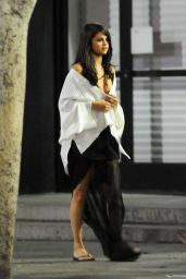 Selena Gomez - Same Old Love Music Video Set Photos, Los Angeles, August 2015