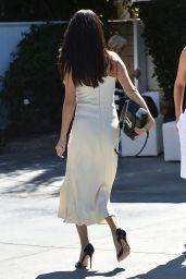 Selena Gomez Style - Arriving to Jennifer Klein