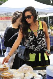 Shay Mitchell Casual Style - Out in Los Angeles, August 2015