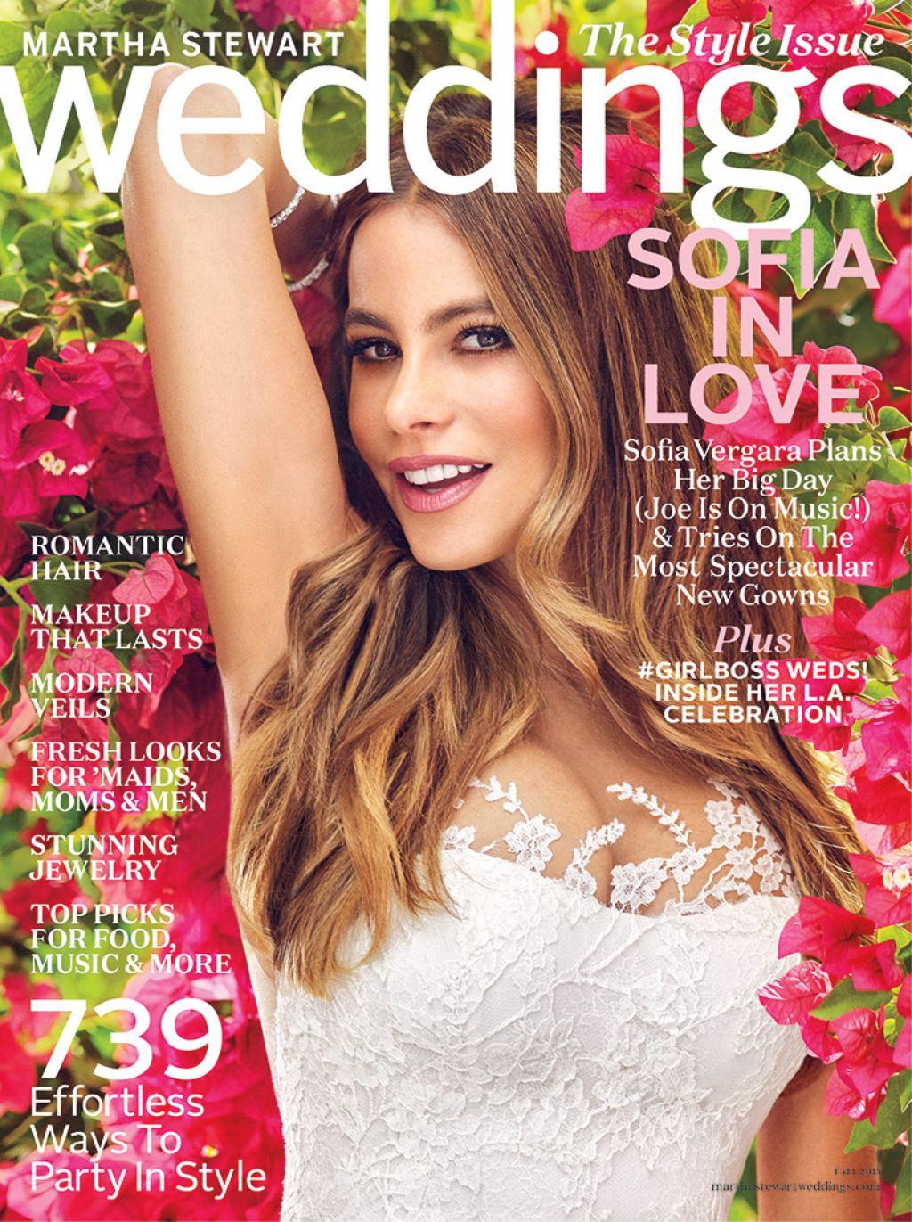 Sofia Vergara Martha Weddings Magazine Fall 2017 Issue