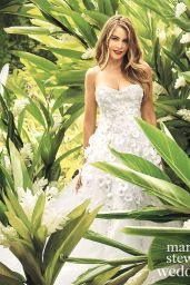 Sofia Vergara - Martha Stewart Weddings Magazine Fall 2015 Issue