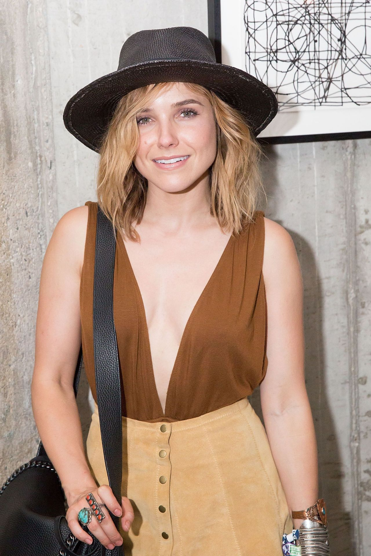 Sophia bush soho house chicago bacardi festival Sophia house