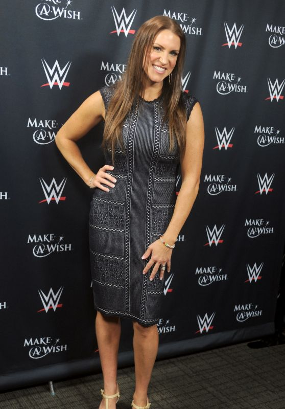 Stephanie McMahon - John Cena & Make-A-Wish Celebration of his 500th Wish Granting Milestone in NYC