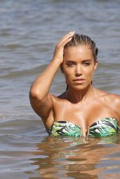 Sylvie Meis Poses in Bikini for a Shoot in Ibiza, August 2015