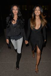 Talitha Minnis & Farah Sattaur - Night Out Style - at Steam And Rye, in London, to celebrate Talitha