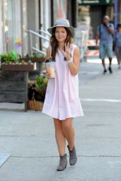 Tammin Sursok Summer Style - Out in NYC, August 2015