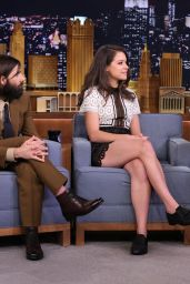 Tatiana Maslany on Tonight Show with Jimmy Fallon, August 2015