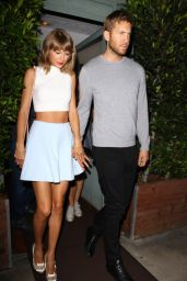 Taylor Swift Night Out Style - Leaving Giorgio Baldi Restaurant in Santa Monica, August 2015