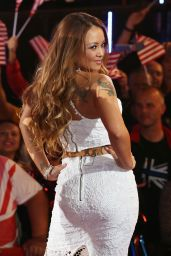 Tila Tequila Celebrity Big Brother 2015 UK vs USA Elstree Studios in Borehamwood