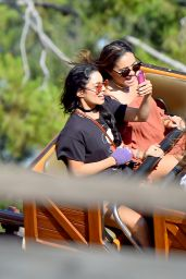 Vanessa Hudgens at Disneyland, August 2015