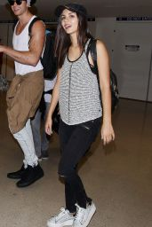 Victoria Justice Airport Style - at LAX, August 2015