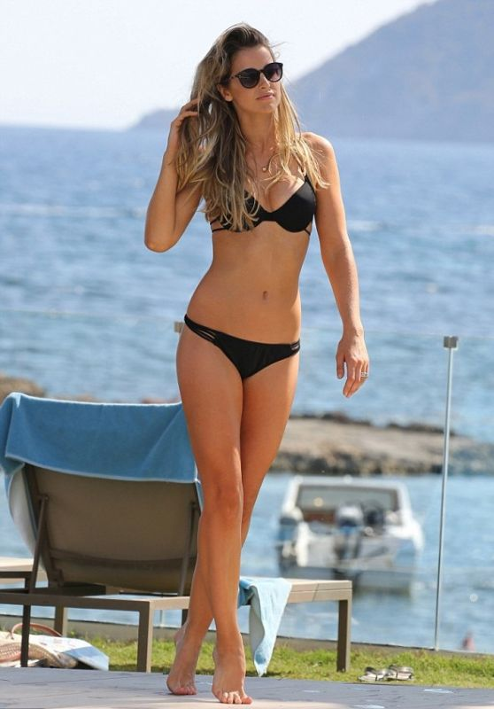 Vogue Williams - Displays Her Toned Physique in a Bikini in Ibiza - July 2015