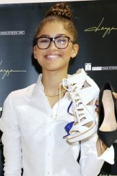 Zendaya Coleman at Her New Shoe Collection Premiere