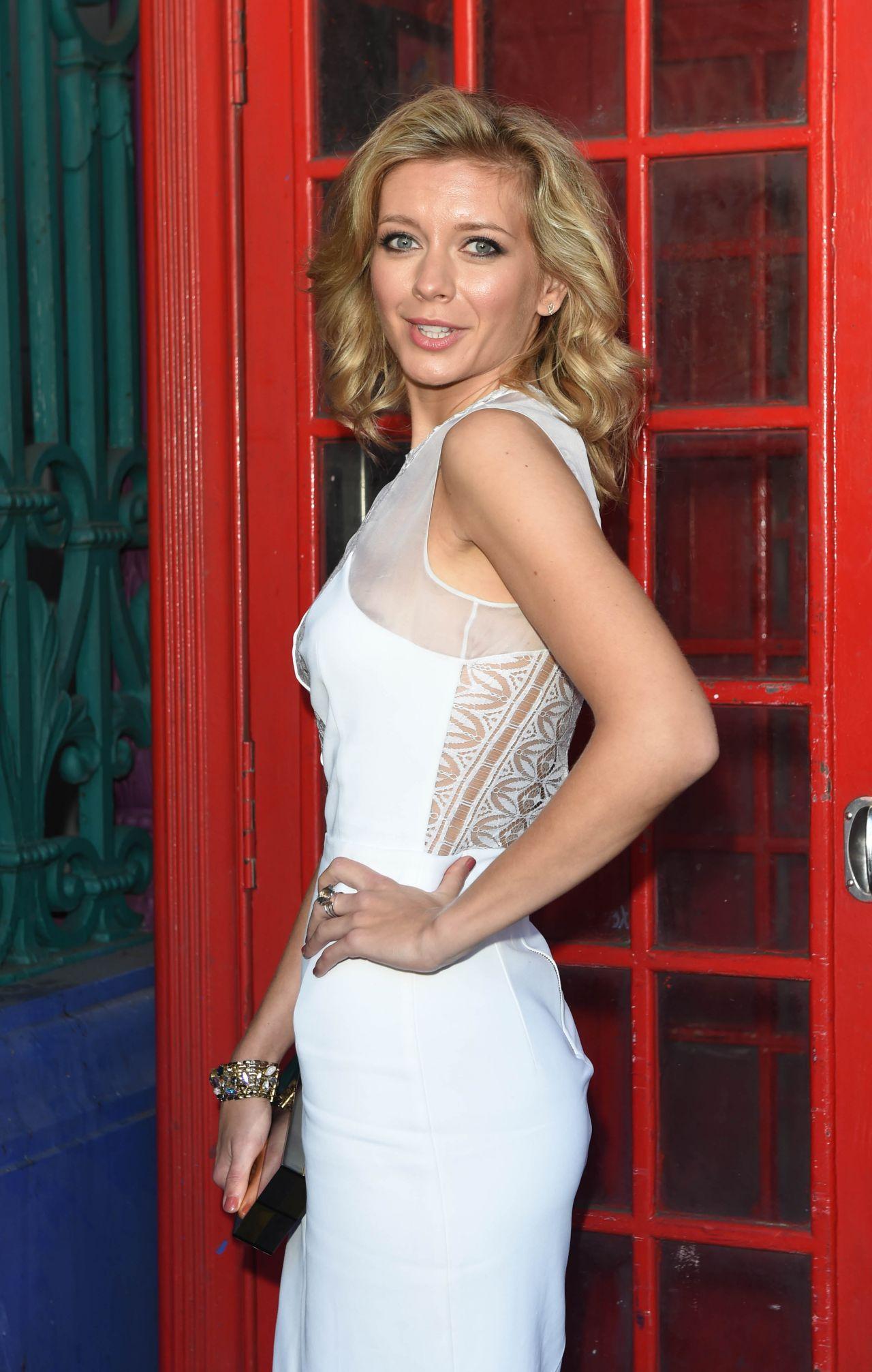 Rachel Riley Julien Macdonald Fashion Show In London