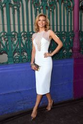 Rachel Riley - Julien Macdonald Fashion Show in London, September 2015