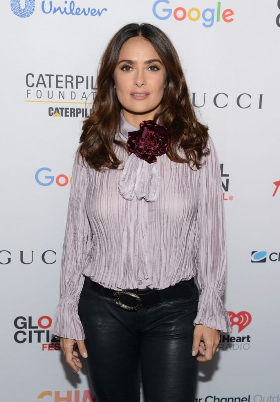 Salma Hayek – 2015 Global Citizen Festival in New York City