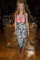 Abbey Clancy - GILES Show - London Fashion Week SS2016