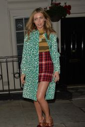 Abbey Clancy - Love Magazine Party at Lou Lou