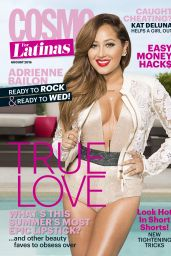 Adrienne Bailon - Cosmo for Latinas Magazine August 2015