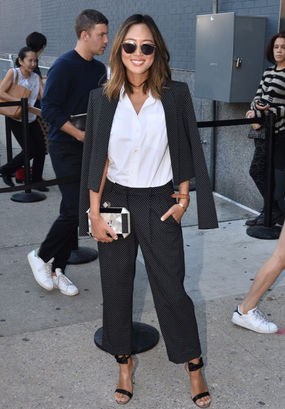 Aimee Song - Michael Kors Show at New York Fashion Week, September 2015