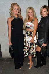 Aisleyne Horgan-Wallace, Nicola McLean & Maria Fowler - Night Out in London, September 2015