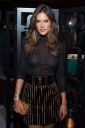 Alessandra Ambrosio - 2015 BrazilFoundation Cocktail Party in NYC