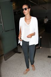 Alessandra Ambrosio at LAX Airport, September 2015
