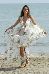 Alessandra Ambrosio - Photocall at Excelsior Hotel Beach - 72nd Venice Film Festival